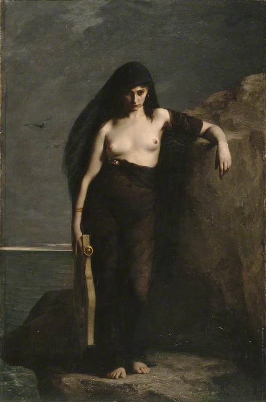 Mengin, Auguste Charles, 1853-1933; Sappho