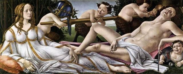 sandro-botticelli-vc3a9nus-et-mars-c-1483-tempera-sur-bois-69-x-1735-cm-londres-national-gallery