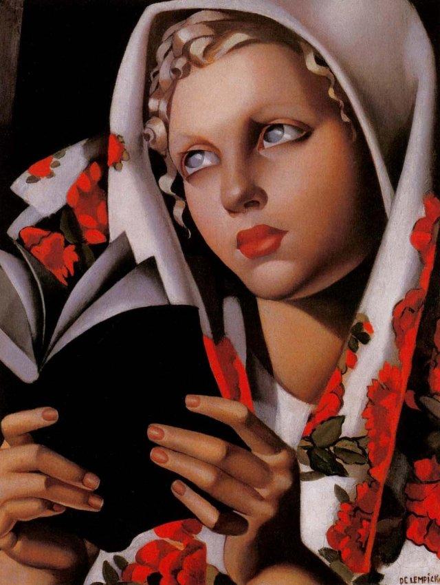 Tamara-de-Lempicka-Polish-Girl-La-Polonaise