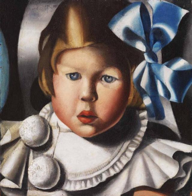 Tamara-De-Lempicka-Portrait-of-Evelyne-P.