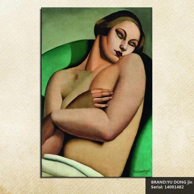 Tamara-de-Lempicka-retrato-cl-sico-aceite-pintura-dibujo-arte-spray-unframed-lona-hecho-a-mano.jpg_640x640